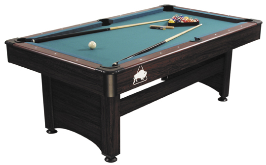 6 ft. Buffalo Rosewood Pool Billardtisch
